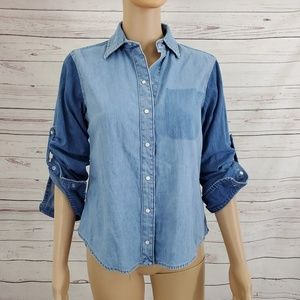 Lauren Ralph Lauren Blouse Button Down Shirt